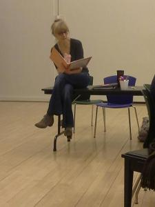 Catherine CoxRehearsal, Day 1